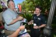 Simon Pagenaud signs autographs during the meet-and-greet at The Grove LA -- Photo by: Chris Owens