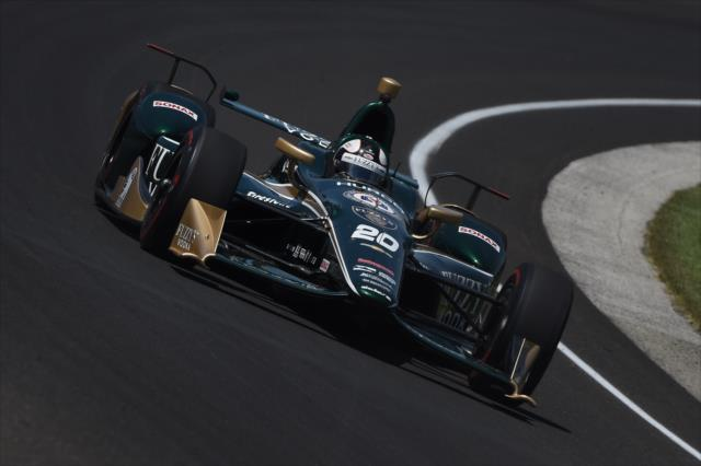 Ed Carpenter. indycar.com; Chris Owens