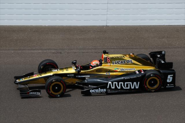 James Hinchcliffe. indycar.com; David Yowe