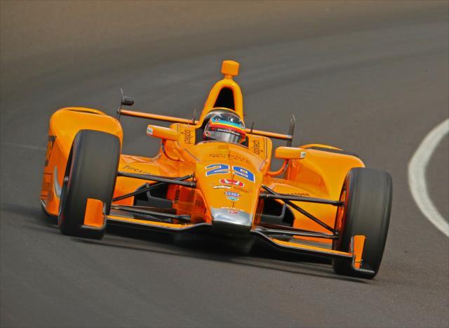 Fernando Alonso. indycar.com; Mike Harding