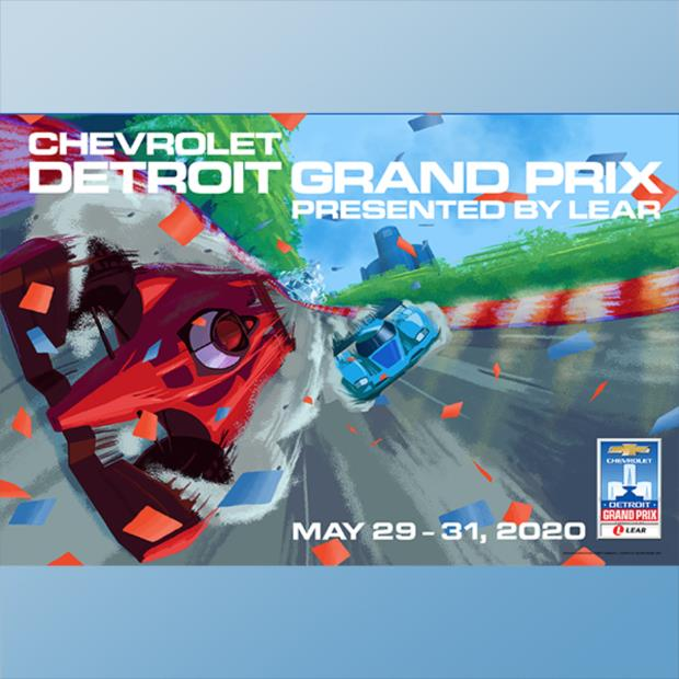 Detroit Grand Prix Posters Through The Years
