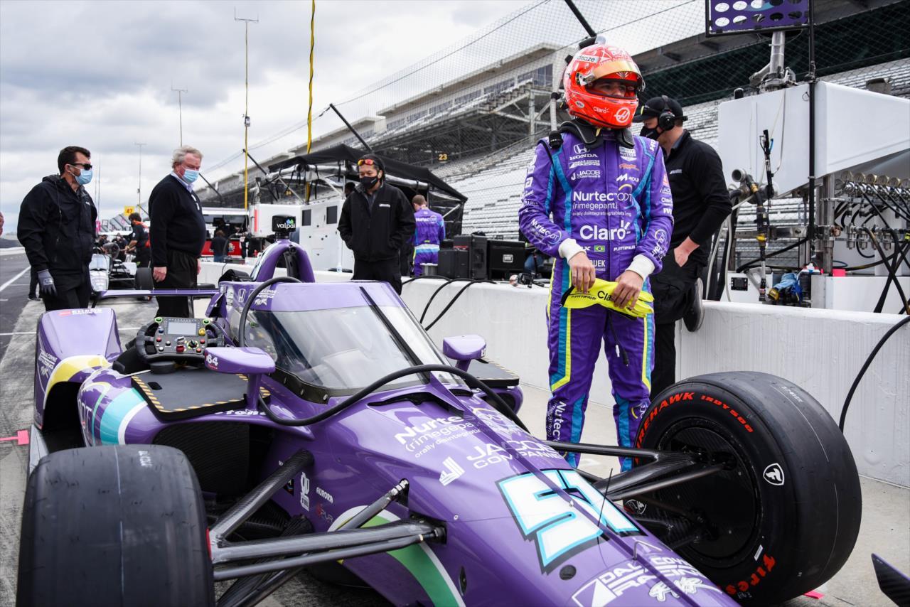Pietro Fittipaldi participará da Indy 500 e das demais provas em oval (James Black/Indycar)