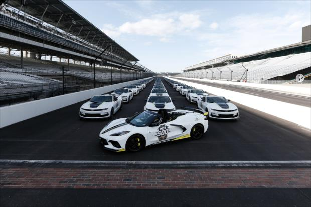 2021 Indianapolis 500 Chevrolet Corvette Stingray Convertible Pace Car