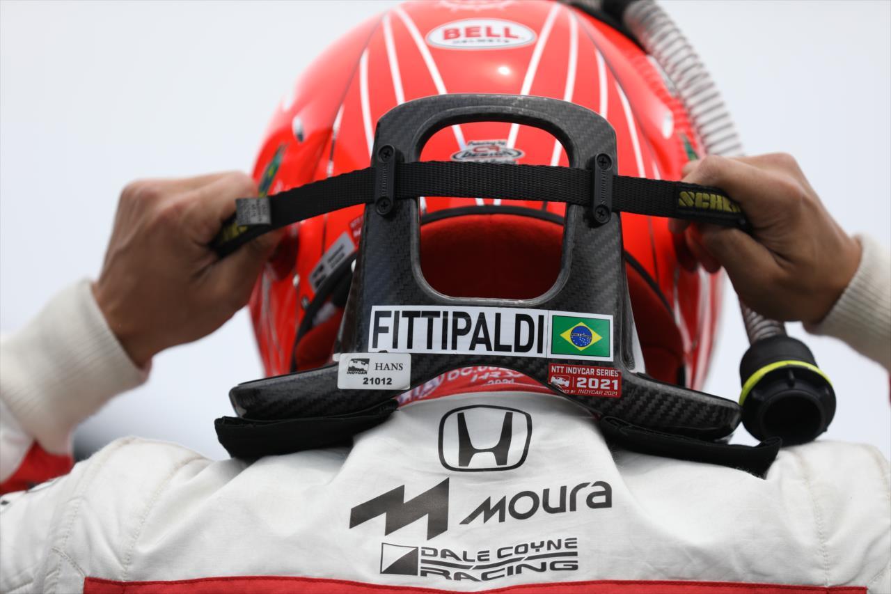 Com o 13º tempo, Pietro Fittipaldi foi o melhor novato do grid (Matt Fraver/IndyCar)
