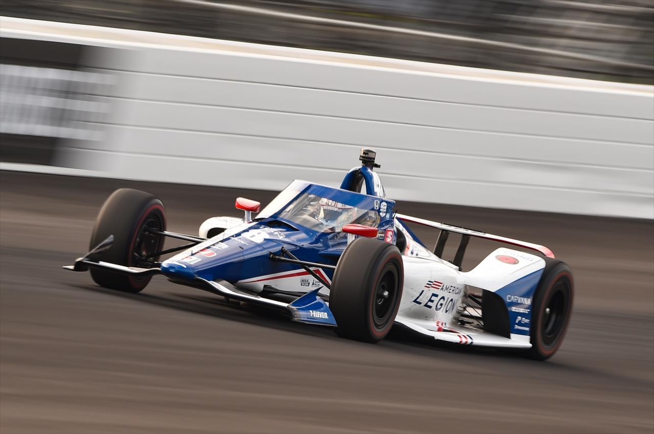 Tony Kanaan foi o segundo melhor da Ganassi no Fast Nine (Chris Owens/IndyCar)