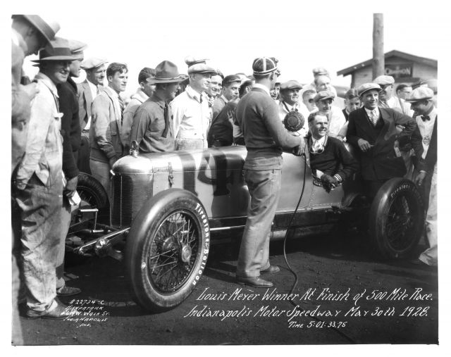Prima vittoria nel 1928 per Louis Meyer. indycar.com