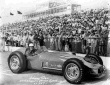 Johnny Tolan in the #28 Greenman-Casale Kuzma Offy after qualifying for the 1957 Indianapolis 500. -- Photo by: No Photographer