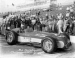 Bob Christe driver of the #95 Jones & Maley KK500C/Offy after qualifying for the 1957 Indianapolis 500. -- Photo by: No Photographer