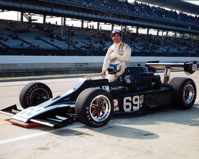 Joe Saldana Race Car Driver