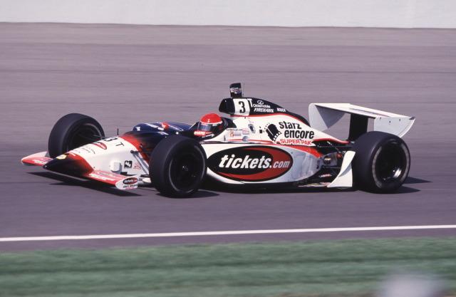 Al Unser Jr. (G.Force-Oldsmobile) nel 2000 torna al team Galles e a Indianapolis passando dalla CART alla IRL. indycar.com