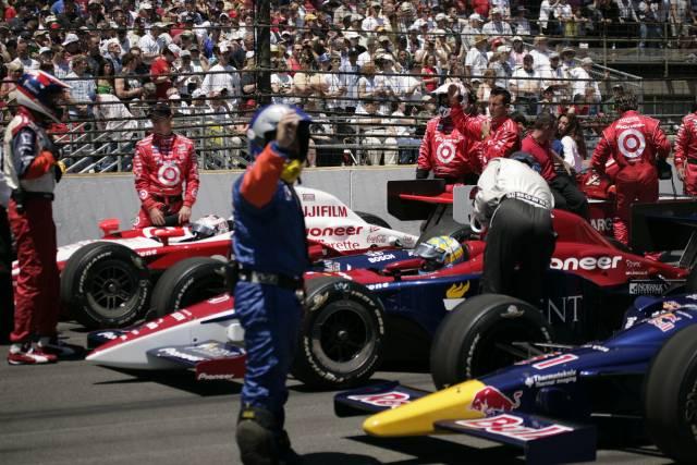 Pronti per il comando alla Indy500. Michael Voorhees, indycar.com