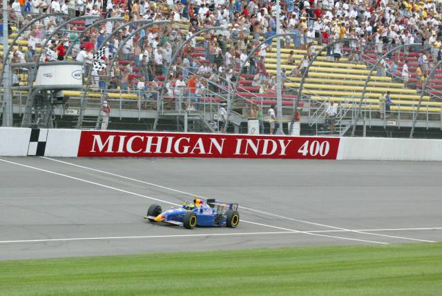 Trionfo a Michigan. indycar.com