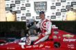 Scott Dixon in Victory Lane after winning the GoPro Grand Prix of Sonoma at Sonoma Raceway -- Photo by: Chris Jones