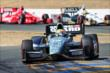 Graham Rahal leads the field through the Turn 9 Chicane during the GoPro Grand Prix of Sonoma at Sonoma Raceway -- Photo by: John Cote
