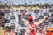 Scott Dixon celebrates his victory in the GoPro Grand Prix of Sonoma at Sonoma Raceway -- Photo by: John Cote
