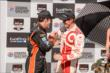 Scott Dixon and Simon Pagenaud congratulate each other following the GoPro Grand Prix of Sonoma at Sonoma Raceway -- Photo by: John Cote