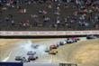 Cars take evasive action during the start of the GoPro Grand Prix of Sonoma at Sonoma Raceway -- Photo by: John Cote