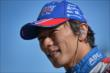 Takuma Sato waits on pit lane prior to the GoPro Grand Prix of Sonoma at Sonoma Raceway -- Photo by: John Cote