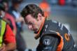Simon Pagenaud sits on pit lane prior to the GoPro Grand Prix of Sonoma at Sonoma Raceway -- Photo by: John Cote