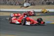 Scott Dixon exits the Turn 9 Chicane during the GoPro Grand Prix of Sonoma at Sonoma Raceway -- Photo by: John Cote