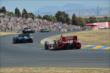 The field heads down the backstretch esses during the GoPro Grand Prix of Sonoma at Sonoma Raceway -- Photo by: John Cote