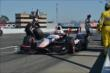 Will Power leaves his pit stall after service is completed during the GoPro Grand Prix of Sonoma at Sonoma Raceway -- Photo by: John Cote