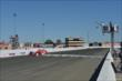 Scott Dixon takes the twin checkered flags to win the GoPro Grand Prix of Sonoma at Sonoma Raceway -- Photo by: John Cote