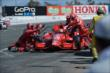 The Target Chip Ganassi Racing team of Tony Kanaan go to work during the GoPro Grand Prix of Sonoma at Sonoma Raceway -- Photo by: John Cote