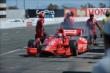 Tony Kanaan leaves the pits after a quick stop during the GoPro Grand Prix of Sonoma at Sonoma Raceway -- Photo by: John Cote