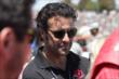 Dario Franchitti in the Target Chip Ganassi Racing pits during pre-race festivities prior to the GoPro Grand Prix of Sonoma at Sonoma Raceway -- Photo by: Joe Skibinski