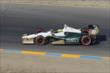 Mike Conway heads towards Turn 3 during the GoPro Grand Prix of Sonoma at Sonoma Raceway -- Photo by: Joe Skibinski