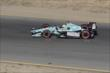 Graham Rahal heads towards Turn 3 during the GoPro Grand Prix of Sonoma at Sonoma Raceway -- Photo by: Joe Skibinski