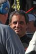 Juan Pablo Montoya does an interview prior to the GoPro Grand Prix of Sonoma from Sonoma Raceway -- Photo by: Richard Dowdy