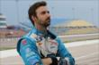 James Hinchcliffe on pit lane prior to practice for the Iowa Corn Indy 300 at Iowa Speedway -- Photo by: Chris Jones