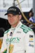 Ed Carpenter on pit lane prior to practice for the Iowa Corn Indy 300 at Iowa Speedway -- Photo by: Chris Jones
