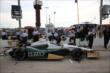 Ed Carpenter prepares for the first practice for the Iowa Corn Indy 300 at Iowa Speedway -- Photo by: Chris Jones