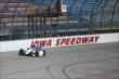Mikhail Aleshin on course during practice for the Iowa Corn Indy 300 at Iowa Speedway -- Photo by: Chris Jones