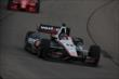 Will Power enters Turn 1 during practice for the Iowa Corn Indy 300 at Iowa Speedway -- Photo by: Chris Jones