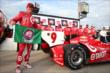 Scott Dixon wins the Verizon P1 Award for winning the pole for the Iowa Corn Indy 300 at Iowa Speedway -- Photo by: Chris Jones