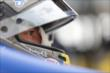 Marco Andretti in full focus prior to practice for the Iowa Corn Indy 300 at Iowa Speedway -- Photo by: Shawn Gritzmacher