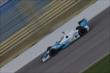 James Hinchcliffe on course during practice for the Iowa Corn Indy 300 at Iowa Speedway -- Photo by: Shawn Gritzmacher