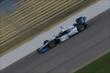Juan Pablo Montoya on course during practice for the Iowa Corn Indy 300 at Iowa Speedway -- Photo by: Shawn Gritzmacher