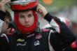 Will Power prepares for practice for the Iowa Corn Indy 300 at Iowa Speedway -- Photo by: Shawn Gritzmacher