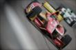 Sebastian Saavedra on course during practice for the Iowa Corn Indy 300 at Iowa Speedway -- Photo by: Shawn Gritzmacher