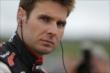 Will Power on pit lane at Iowa Speedway -- Photo by: Shawn Gritzmacher