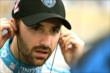 James Hinchcliffe prepares for qualifying at Iowa Speedway -- Photo by: Shawn Gritzmacher