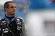 Juan Pablo Montoya prior to qualifications at Iowa Speedway -- Photo by: Shawn Gritzmacher