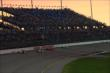 Dusk settles beautifully over Iowa Speedway during the early stages of the Iowa Corn Indy 300 at Iowa Speedway -- Photo by: Chris Jones