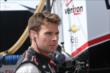 Will Power on pit lane at Iowa Speedway -- Photo by: Chris Jones