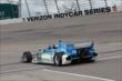 The two-seater goes out onto the Iowa Speedway track -- Photo by: Chris Jones